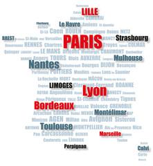 Villes de France tags-1