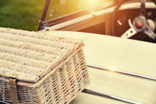 convertible summer picnic