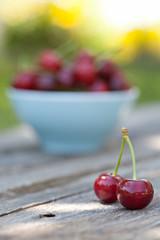 cherry fuits outdoor