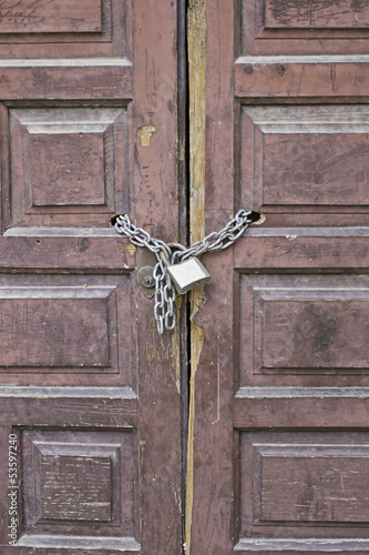 Door with lock