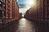 Fototapety Hamburg, Speicherstadt