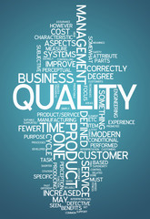"Word Cloud ""Quality"""