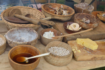 Spread of medieval food