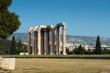 Temple of Olympian Zeus , Athens, Greece