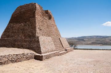 Pirámide Votiva en La Quemada, Zacatecas (México)