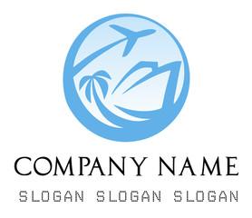 Travel agency logos. Business logo.