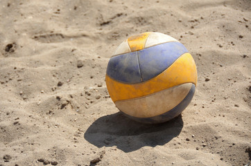 volleyball sand