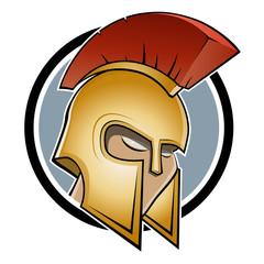 kämpfer helm krieger symbol