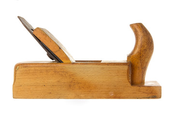 Old fashioned wood planer