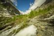 la vallée du glacier blanc