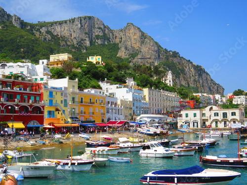 Leinwandbild Motiv Ile de Capri, Italie, Europe