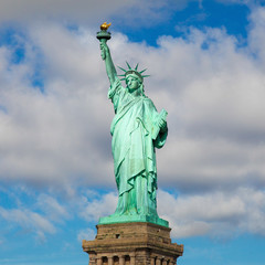 Statue of Liberty in New York City - square image