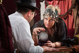 Fortune Teller with Crystal Ball poster
