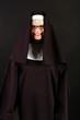 Happy nun