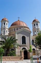 Church in Thessaloniki downtown, near Aristotle's square