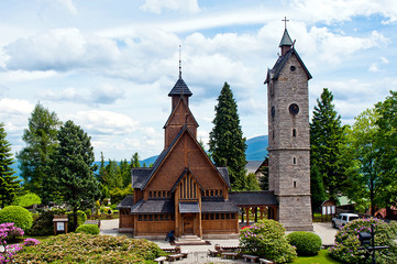 Vang (wang) stave church in Karpacz