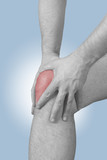 Acute pain in a man knee
