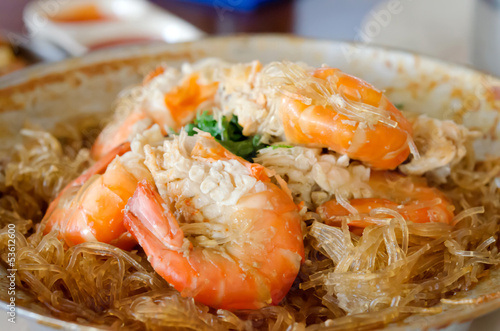 shrimp and vermicelli