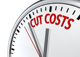 Low Budget concept : Time to Cut Costs