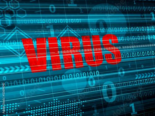 Computer VIRUS detection concept