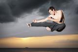 Fototapety Karate fighter