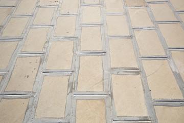Pavimento di mattoni