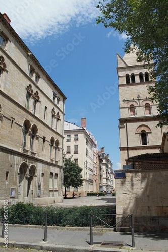 Quartier et Abbaye d'Ainay à Lyon