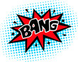 Bang - Comic Sprechblase