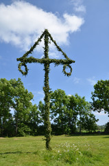 Midsummer pole