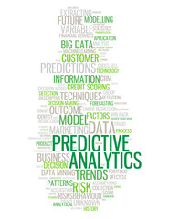 PREDICTIVE ANALYTICS Tag Cloud (statistics business risk data)