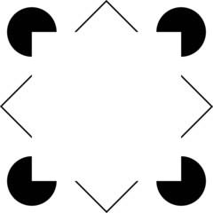 Kanizsa Sqare Illusion