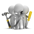 3d small people - excellent repairers