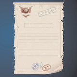 Top Secret Document Template
