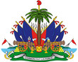 Постер, плакат: Haiti shield