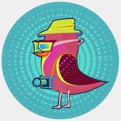 Bird-hipster
