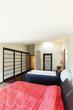 interior luxury apartment, beautiful bedroom with bath