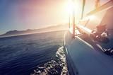 Fototapety sailing ocean boat