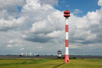Historischer Leuchtturm Balje