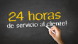 24 hour client Service (In Spanish)