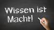 Knowledge is Power (In German)