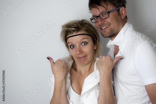 Lustiges Paar