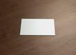 namecard horizontal Front wood
