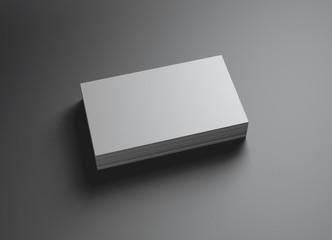 set of namecards horizontal left