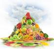Fresh Fruits Consept