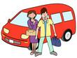 夫婦でドライブ旅行