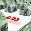 Real estate market euro