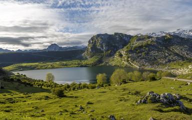 lake Ercina, Asturias