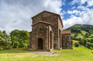 Church of Santa Cristina de Lena Oviedo