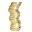 1 Euro Münzen aufgestapelt _2