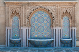 Moroccan tiled fountains - 53641868
